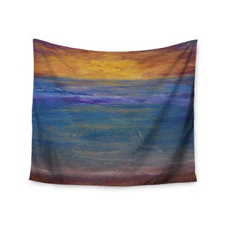 KESS InHouse Cyndi Steen 'Sky On Fire' Multicolor Orange 51x60-inch Tapestry