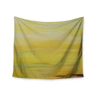 KESS InHouse Cathy Rodgers 'Yellow Sunrise' Yellow Purple 51x60-inch Tapestry