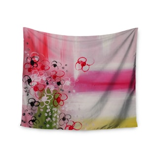KESS InHouse Cathy Rodgers 'Spring Dreams' Pink Yellow 51x60-inch Tapestry