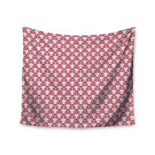 KESS InHouse Mayacoa Studio 'Rosea' Yellow Pink 51x60-inch Tapestry