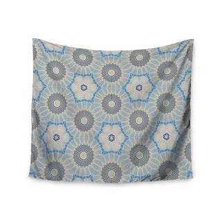 KESS InHouse Angelo Cerantola 'Satori' Beige Blue 51x60-inch Tapestry