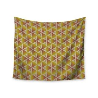 KESS InHouse Angelo Cerantola 'Honey' Gold Orange 51x60-inch Tapestry