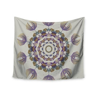 "Kess InHouse Angelo Carantola ""Reach Out"" Beige Lavender Wall Tapestry 51'' x 60''"