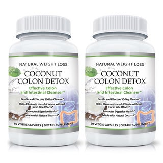 Gentle Coconut Colon Detox Cleanse (60 Capsules)