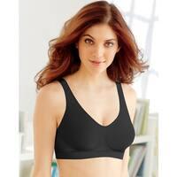 cfe3d888211 Bali Women s Revolution Black Nylon Comfort Flex Fit Shaping Wirefree Bra