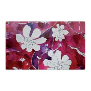 KESS InHouse Theresa Giolzetti 'Succulent Dance II' Artistic Aluminum Magnet