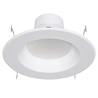 """Maxxima 6"""""""" Dimmable LED Retrofit Downlight 4000K Neutral White, 900 Lumens"""