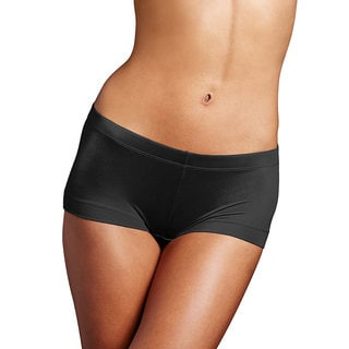 Maidenform Women's Dream Black Cotton/Nylon/Spandex Boyshort