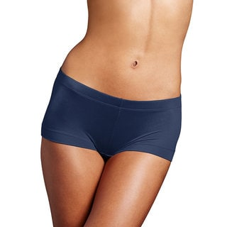 Link to Maidenform Women's Dream Collection Blue Cotton, Nylon, and Spandex Boy Short Similar Items in Intimates
