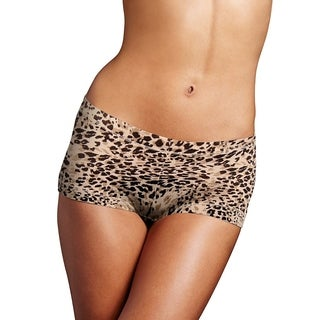 Dream Women's Boyshort Neutral Snow Leopard (3 options available)
