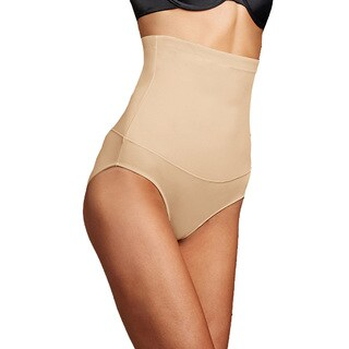 Maidenform Women's Firm Control Latte Lift Hi-waist Brief