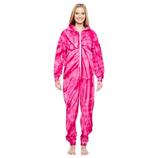 Women's Pink Cotton, Polyester Pajama Set