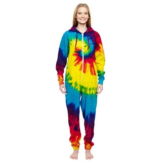 All-In-One Women's Rainbow Cotton/Polyester Loungewear