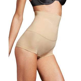 Maidenform Women's Control It! Latte Lift Slim Waisters Hi-waist Boyshort