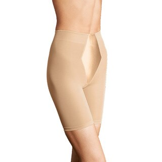 Easy-Up Women's Latte Nylon/Spandex/Cotton 3X 4X Thigh Slimmer