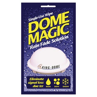 King Satellite Dome Single-use Magic Wipe