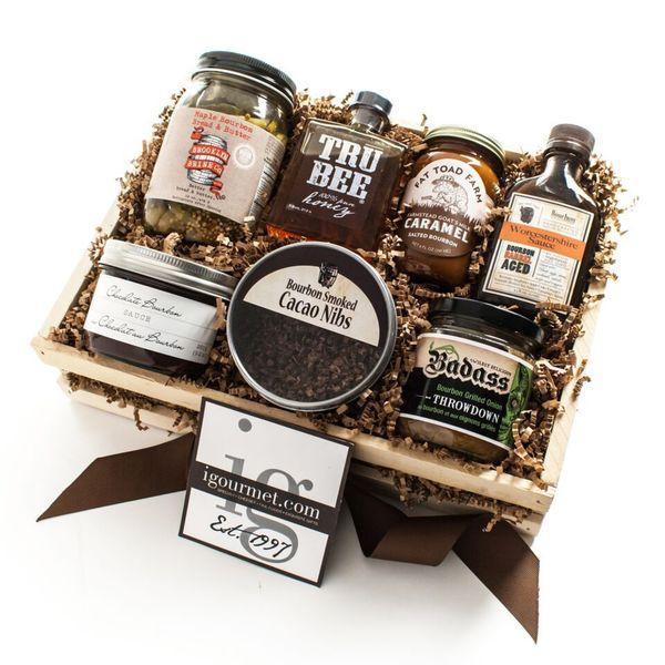 igourmet The Bourbon Gift Crate