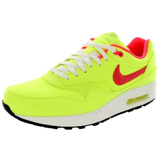 Nike Men's Air Max 1 Premium Green Mesh Running Shoe