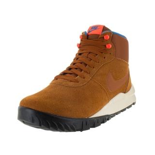 Nike Men's Hoodland Tawny/Orange Suede Boot