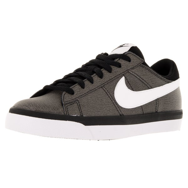 Shop Nike Men's Match Supreme Black/White Leather ...
