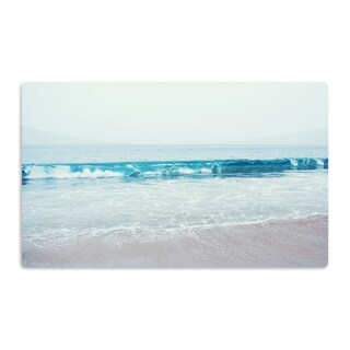 KESS InHouse Nastasia Cook 'Crystal Clear' Ocean Wave Artistic Aluminum Magnet