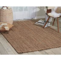 kathy ireland Bengal Silver Area Rug by Nourison - 5' x 7'