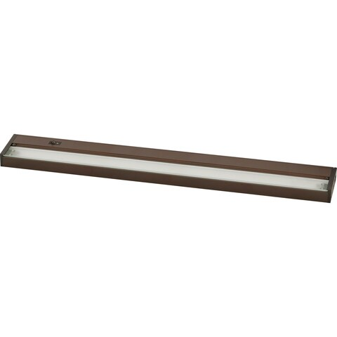 Progress Lighting Bronze Aluminum 8-Light LED Undercabinet Fixture
