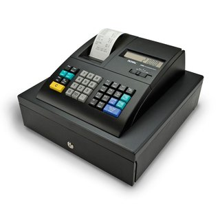 Royal 210DX Cash Register (24 dept., 1500 PLU, thermal, fits US/Canada bills) - Refurbished