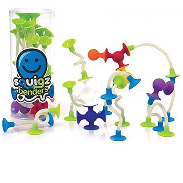 Fat Brain Toys Squigz Benders