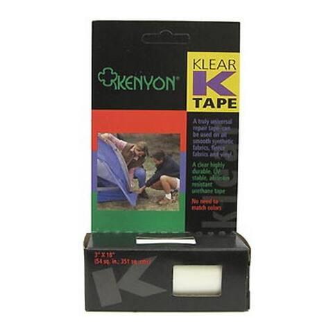 Chinook Klear 3-inch x 18-inch Repair K-Tape