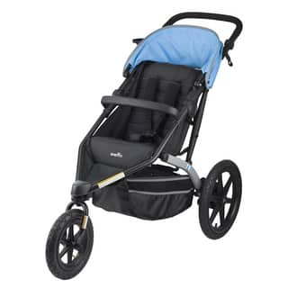 Evenflo Charleston Jogging Stroller in Sky Blue|https://ak1.ostkcdn.com/images/products/12149653/P19004111.jpg?impolicy=medium