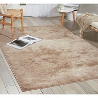 kathy ireland Illusion Beige Area Rug - 7'10 x 10'6