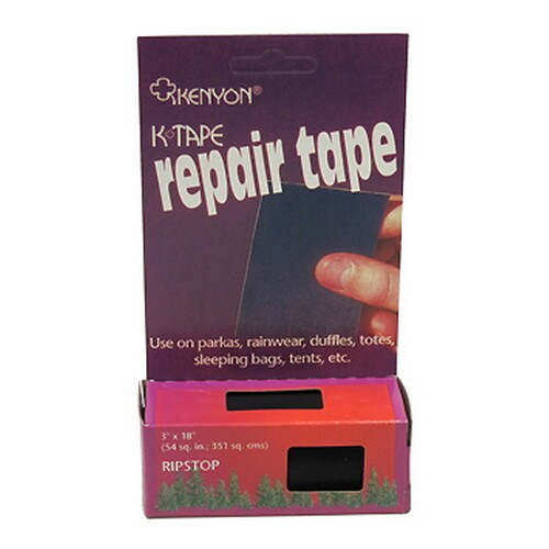 Chinook Ripstop Black Nylon Repair Tape