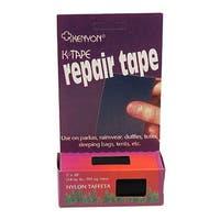 Chinook Black Taffeta Nylon K-Tape Repair Tape