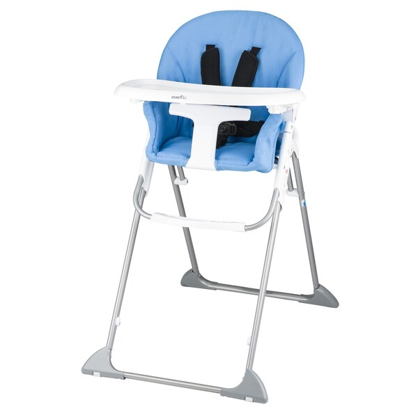 Shop Evenflo Clifton High Chair In Sky Blue Free