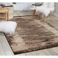 kathy ireland Illusion Mocha Area Rug (7'10 x 10'6) by Nourison