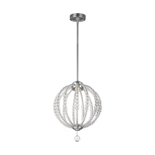 Feiss Oberlin 1 Light Satin Nickel Pendant