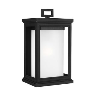 Feiss StoneStrong 1 - Light Outdoor Wall Lantern, Textured Black