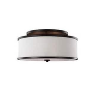 Feiss Lennon 3 Light Oil Rubbed Bronze Semi-Flushmount