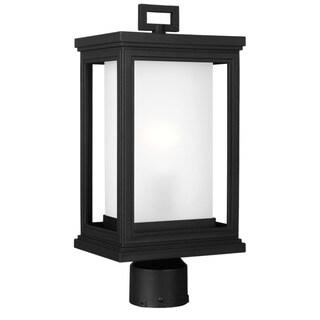 Feiss Roscoe 1 Light Textured Black Outdoor Post Lantern