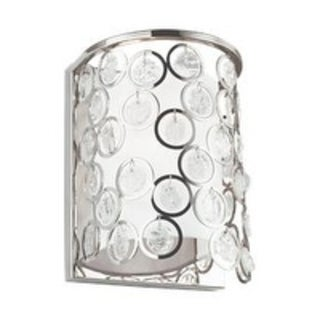Feiss Lexi 1-light Polished Nickel Wall Sconce