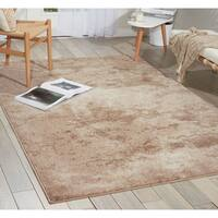 kathy ireland Illusion Beige Area Rug