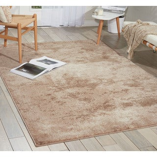 kathy ireland Illusion Beige Area Rug (3'11 x 5'11) by Nourison