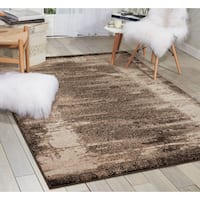 kathy ireland Illusion Mocha Area Rug by Nourison