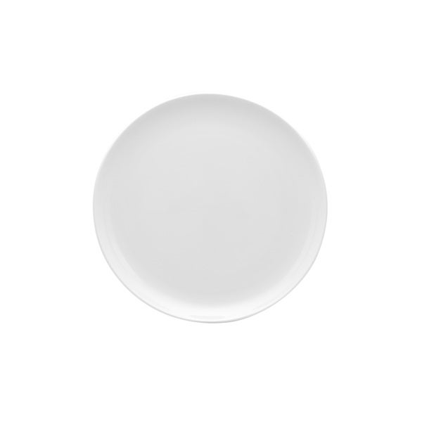 """Pure White Coupe Dinner Plate 10.75"""" (Set of 4)"""