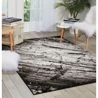 kathy ireland Illusion Ivory/Grey Area Rug
