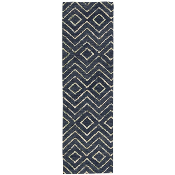 Barclay Butera Intermix Storm Area Rug by Nourison (2'3 x 8')