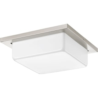 Progress Lighting P3411-0930K9 Transit Nickel Steel 11-inch 1-light LED Flush Mount with AC LED Module