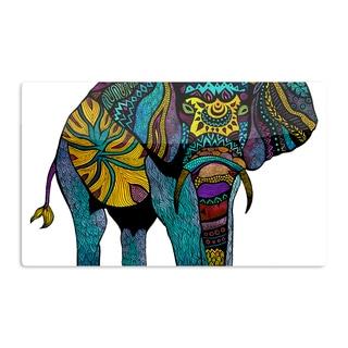KESS InHouse Pom Graphic Design 'Elephant of Namibia' Artistic Aluminum Magnet