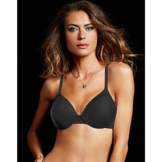 Maidenform Women's Comfort Devotion Black Tailored Extra Coverage T-shirt Bra|https://ak1.ostkcdn.com/images/products/12150347/P19004772.jpg?impolicy=medium